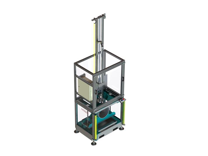 Machine de test de chocs pour tube PVC